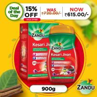 Buy Zandu Kesari Jivan Chavanprash – Ayurvedic Immunity Booster for Adults and Elders at Rs 415 only