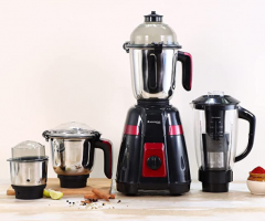 Buy Wonderchef Platinum Mixer Grinder 750W With 4 Anti-Rust Stainless Steel Jars at Rs 2899 from Amazon