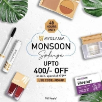 Myglamm My Beauty Day Sale Makeup Coupons Offers- Get Flat Rs 700 OFF on orders Above Rs 899