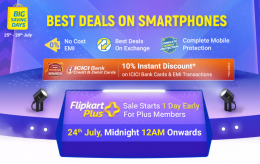 Flipkart Big Savings Days Mobile July 2021 Offers: Upto 70% Discount on Mobiles, Extra 10% ICICI Bank Discount (25th to 29th July 2021)