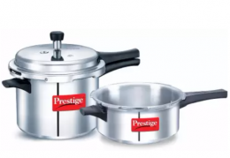 Buy Prestige Popular 5 L, 3 L Pressure Cooker (Aluminium) Best Discount Price at Rs 1599 from Flipkart