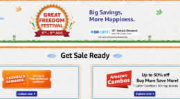 Amazon Freedom Festival Sale 2021 Offers: 60-80% OFF On Mobiles, Electronics & Fashion, Extra 10% SBI Bank Discount [5th-9th August 2021]