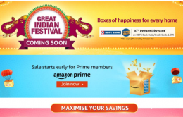 Amazon Great Indian Festival Sale 2021 Offers: Upto 80% OFF On Mobiles, Clothing, Electronics, TV & Appliances, Extra 10% HDFC Bank Discount