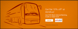 AbhiBus Coupons & Offers- Get Upto 100% OFF or FREE BUS RIDE on AbhiBus for New Users