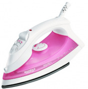Buy Maharaja Whiteline Aquao Deluxe SI-102 1400-Watt Steam Iron (White/Blue) at Rs 720 Only