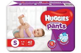 Huggies Wonder Pants Diaper- XS (24 Pieces) at Rs 99 from Flipkart