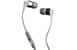 Buy Skullcandy Wired Headset With Mic (Grey, In the Ear) just at Rs 699 from Flipkart
